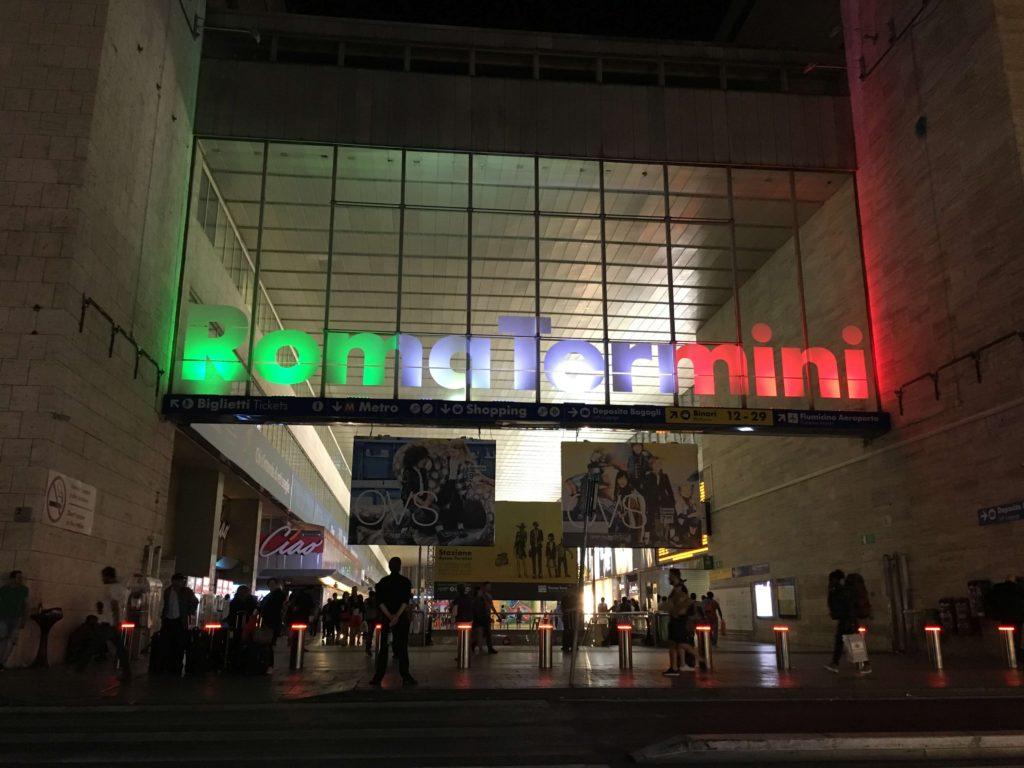 ローマテルミニ駅