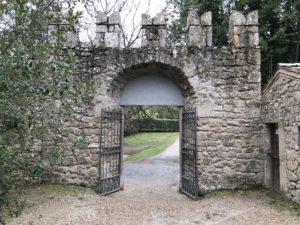 ボマルツォ怪物公園の入り口