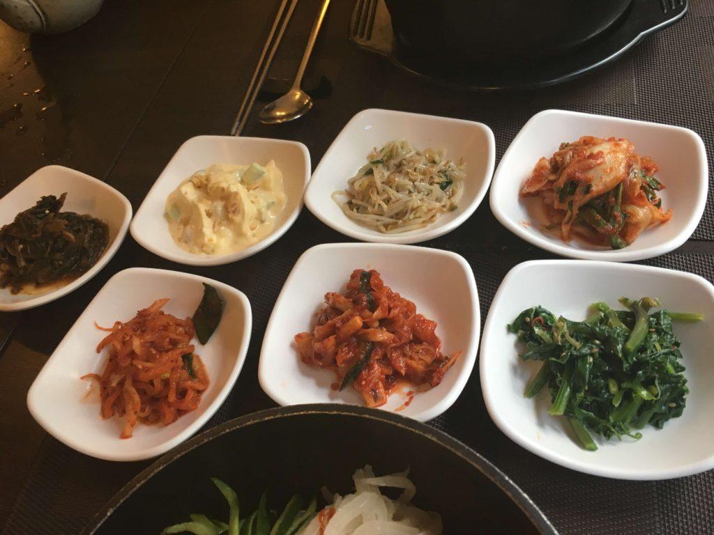 韓国料理の小鉢