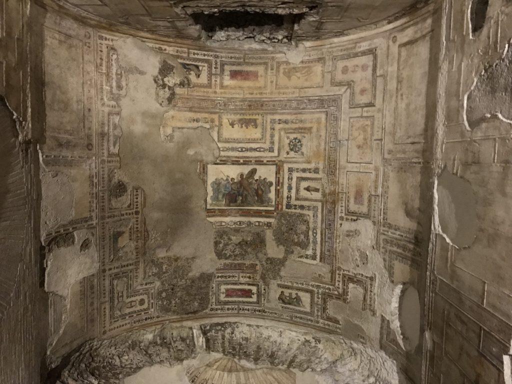 ネロ皇帝黄金宮殿、アキレウスの部屋