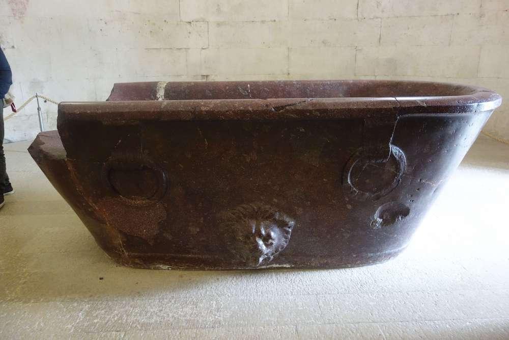 テオドリクスの霊廟にある石棺