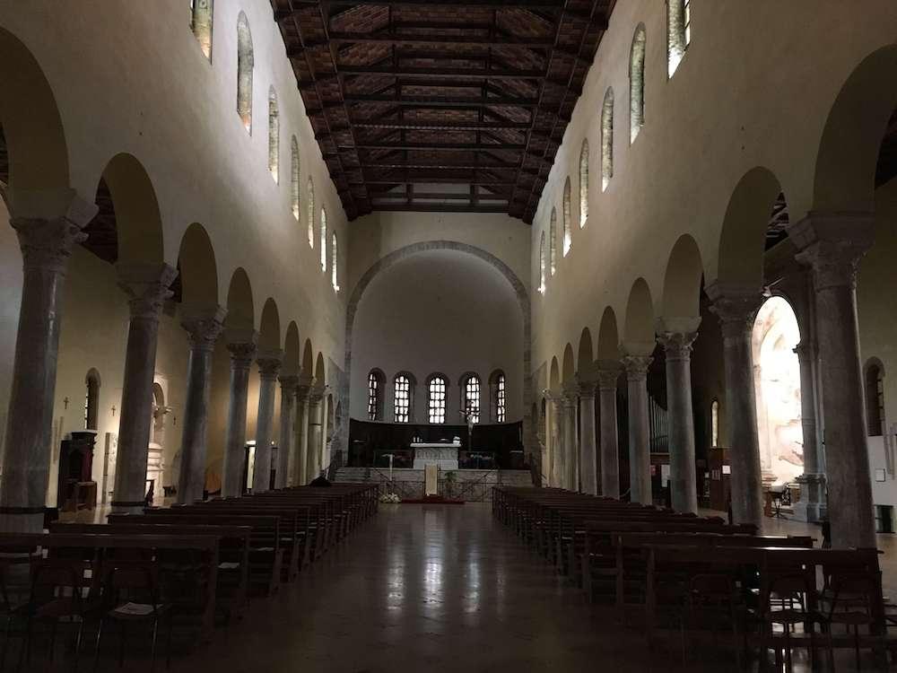 サン・フランチェスコ聖堂内部