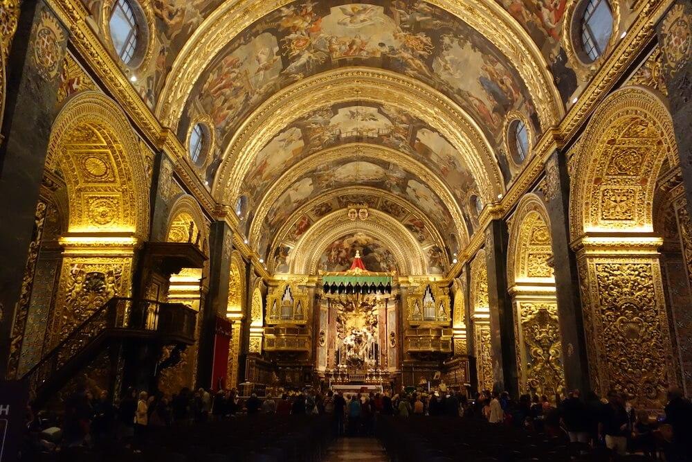 聖ヨハネ大聖堂内部