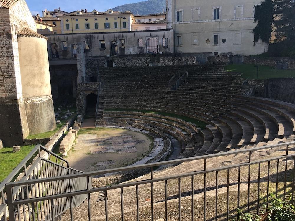 古代ローマの劇場跡