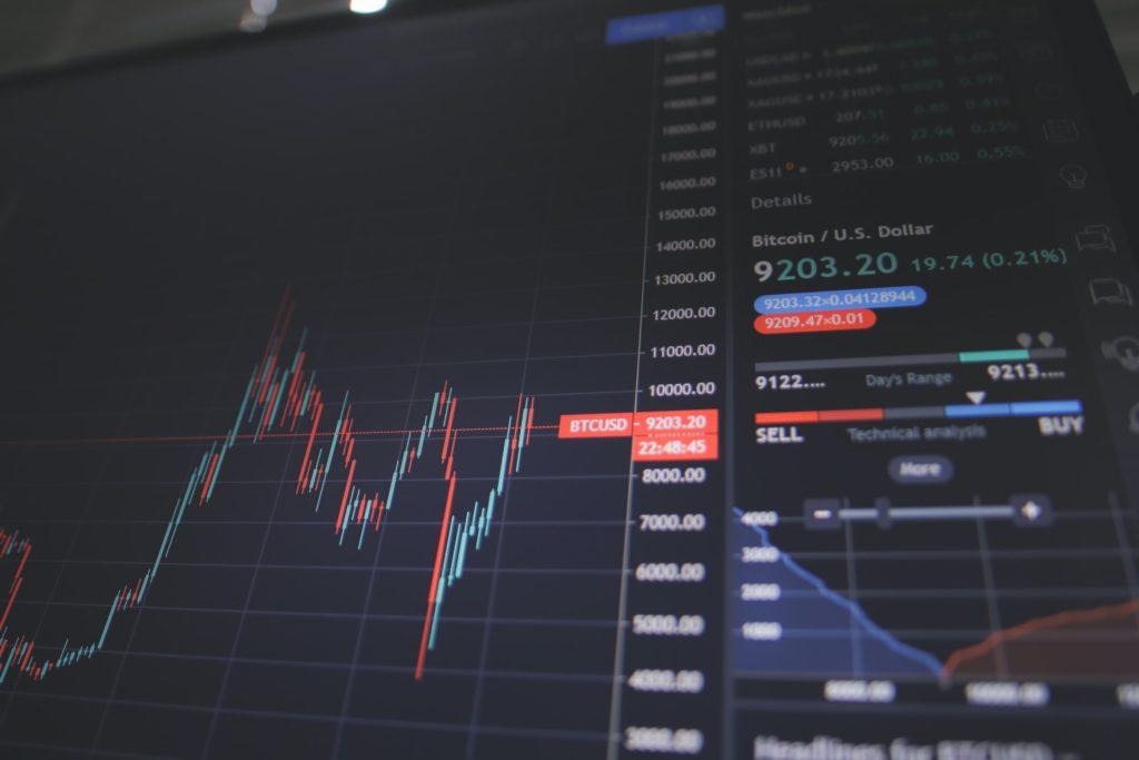 株取引パソコン画面